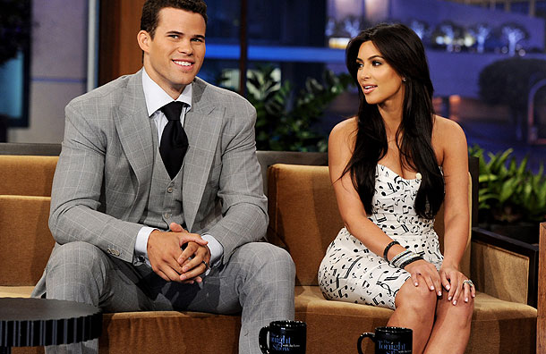 Kris & Kim on the Jay Leno Show on 4 October 2011