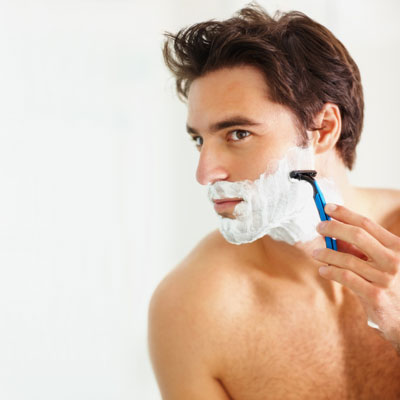 man-shave