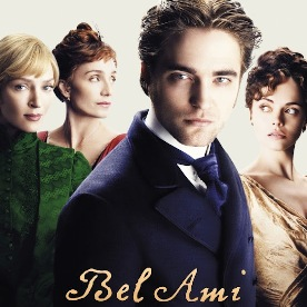 """Bel Ami"", ""Robert Pattinson"", ""Chrisitna Ricci"", ""Uma Thurman"" ""Kristin Scott Thomas"""