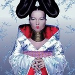 Bjork wears a McQueen design on her Homogenic album cover