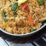 Tawa Rice-Pulao &#8211; Indian Street Food