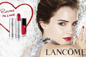 """Lancôme"", ""Mario Testino"", ""Emma Watson"", ""Rouge in Love"""