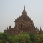 Bagan&#039;s ancient temples (photo credit: Peter Newbigin)