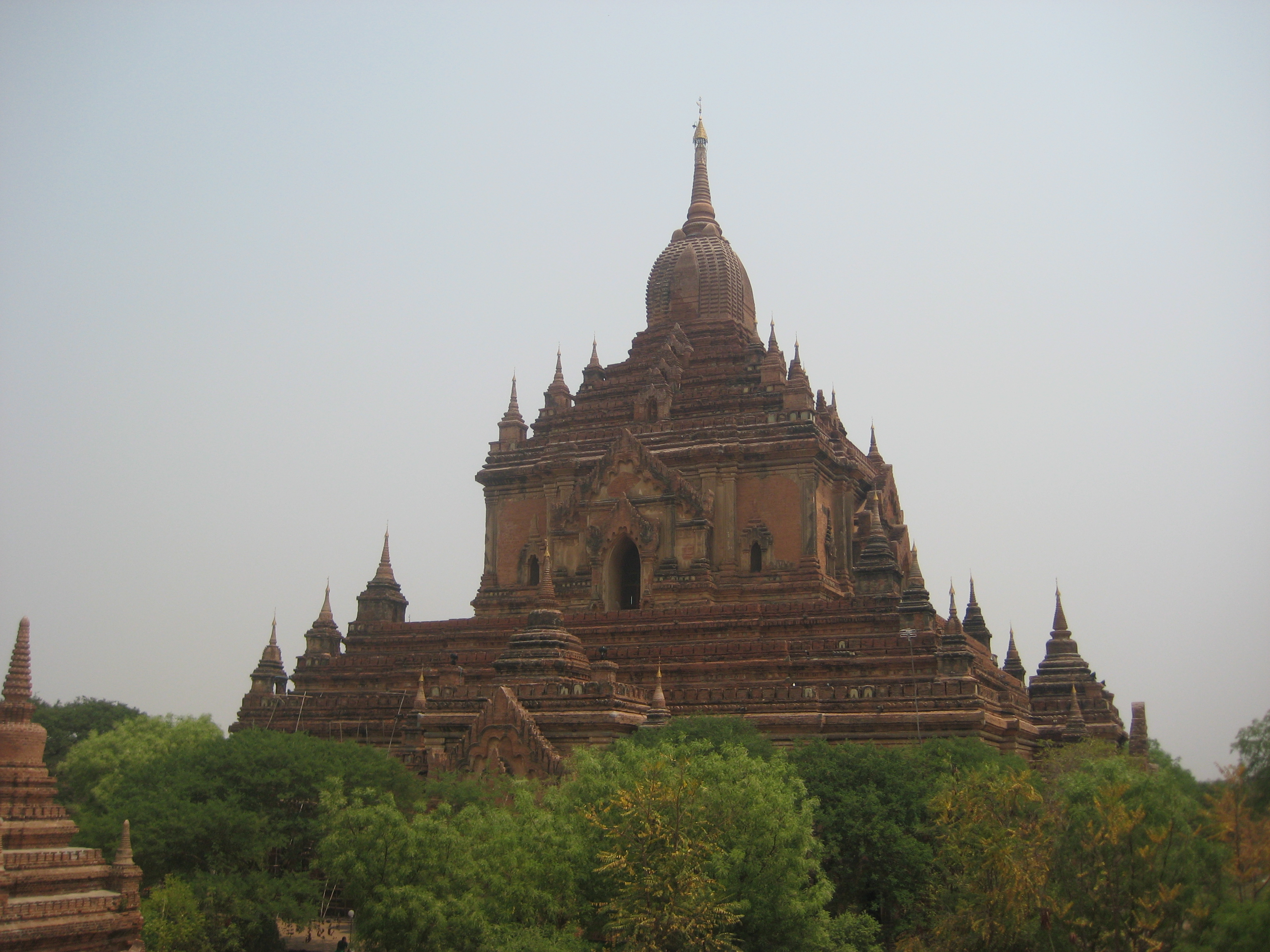 Bagan's ancient temples (photo credit: Peter Newbigin)