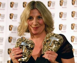 Victoria Wood winning 2 BAFTAs in 2007