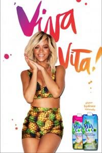 """ Rihanna"",""Coconut Water"",""Viva Vita"",""Vita Coco"""