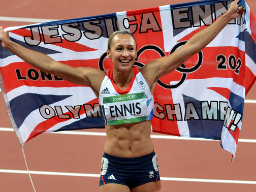 Jessica Ennis Olympic Champion
