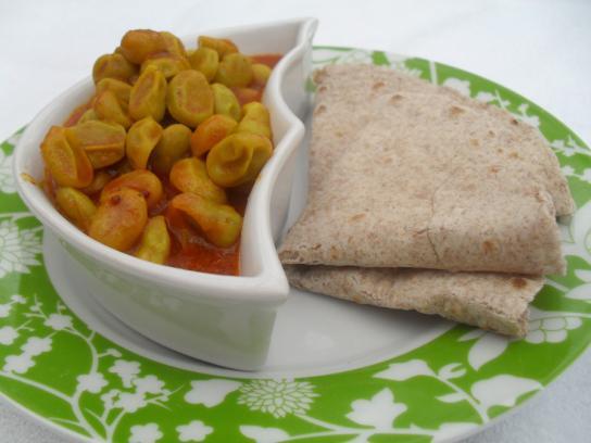 broadbean curry