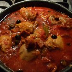 Spanish Chicken and Chorizo