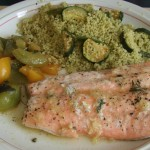 Salmon with Lime and Thyme