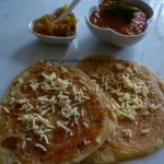 Cheese and Oregano Parathas