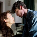 Helen McCrory with Callum Turner in the ITV1 drama, 'Leaving'