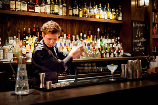 Mixologist at Shaker and Company Bar