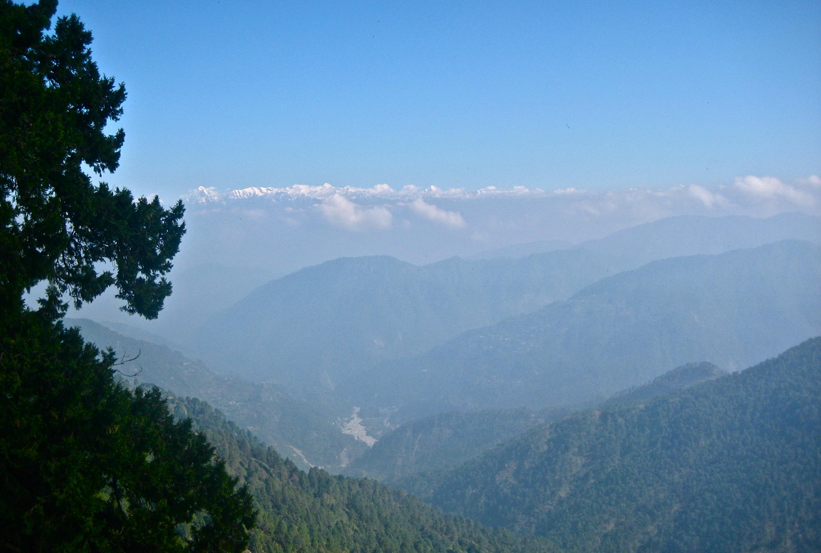 Himalayas from Nania Peak