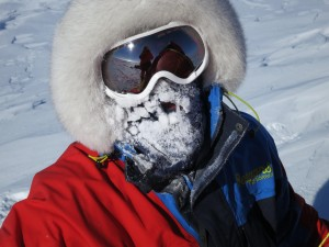 Malcolm Walker during South Pole expedition
