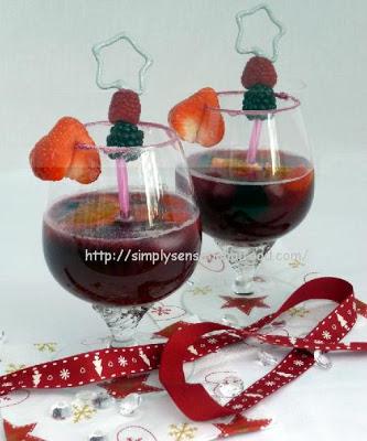 Three Merry Berries Mocktail 12