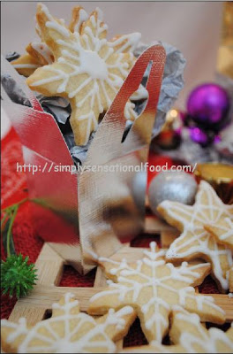 snowflake lemon shortbread 4