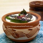 Yoghurt and Coconut Chutney/Dip