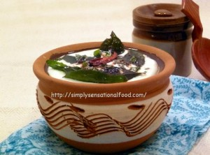 Yoghurt and coconut chutney_2
