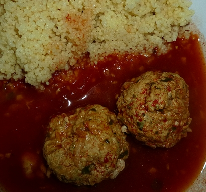 meatballs-with-couscous