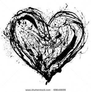 stock-photo-abstract-valentine-black-heart-on-white-background-69646699