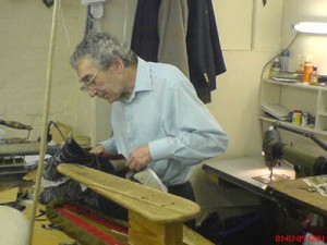 Pat Gormley, a well-known & respected tailor