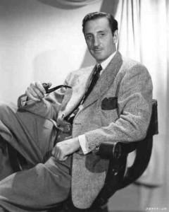 Basil Rathbone, a very elegant Sherlock Holmes