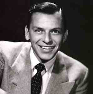 Mr Sinatra with proper lapels