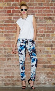 Printed Trousers - £12