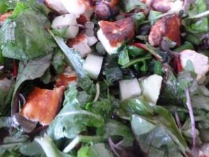 halloumi-salad