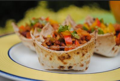 Taco wontons