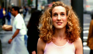 SJP as Carrie Bradshaw