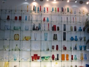 A stunning display of glass