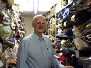 "Ray Hammet, the ""curator"" of the vaults at W. Bill Ltd."