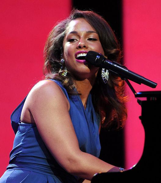 Alicia Keys in 2011