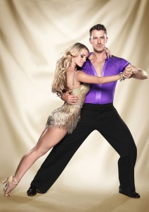 ATD with Strictly partner Ola Jordan