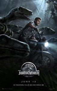 Chris Pratt - Jurassic World poster